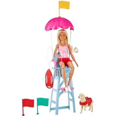 Barbie Careers Lifeguard Doll Playset