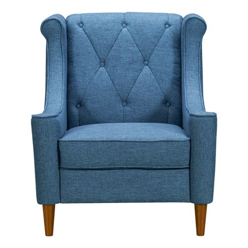 Luxe Mid Century Sofa Chair - Armen Living - image 1 of 4