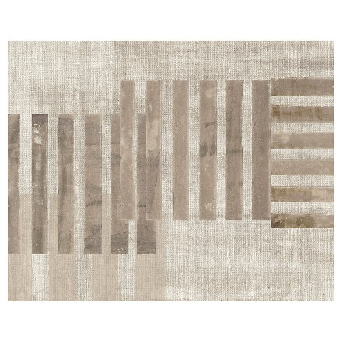 Linear Arrangement B Unframed Wall Canvas Art - (24X30) - image 1 of 1