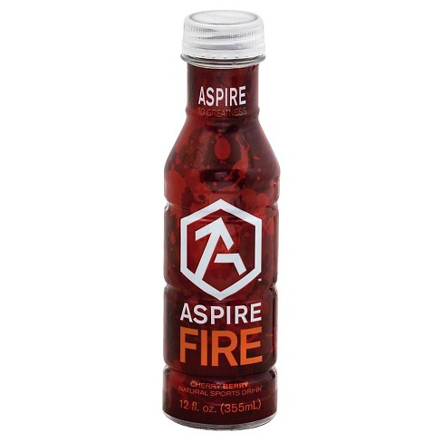 Aspire Fire Cherry Berry Sports Drink - 12 fl oz Bottle - image 1 of 1