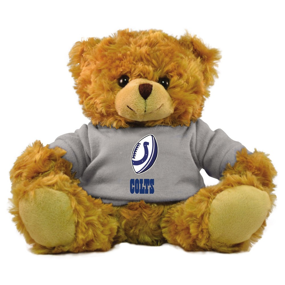 NFL Team 9-inch Rally Men Hoodie Bear - Indianapolis Colts