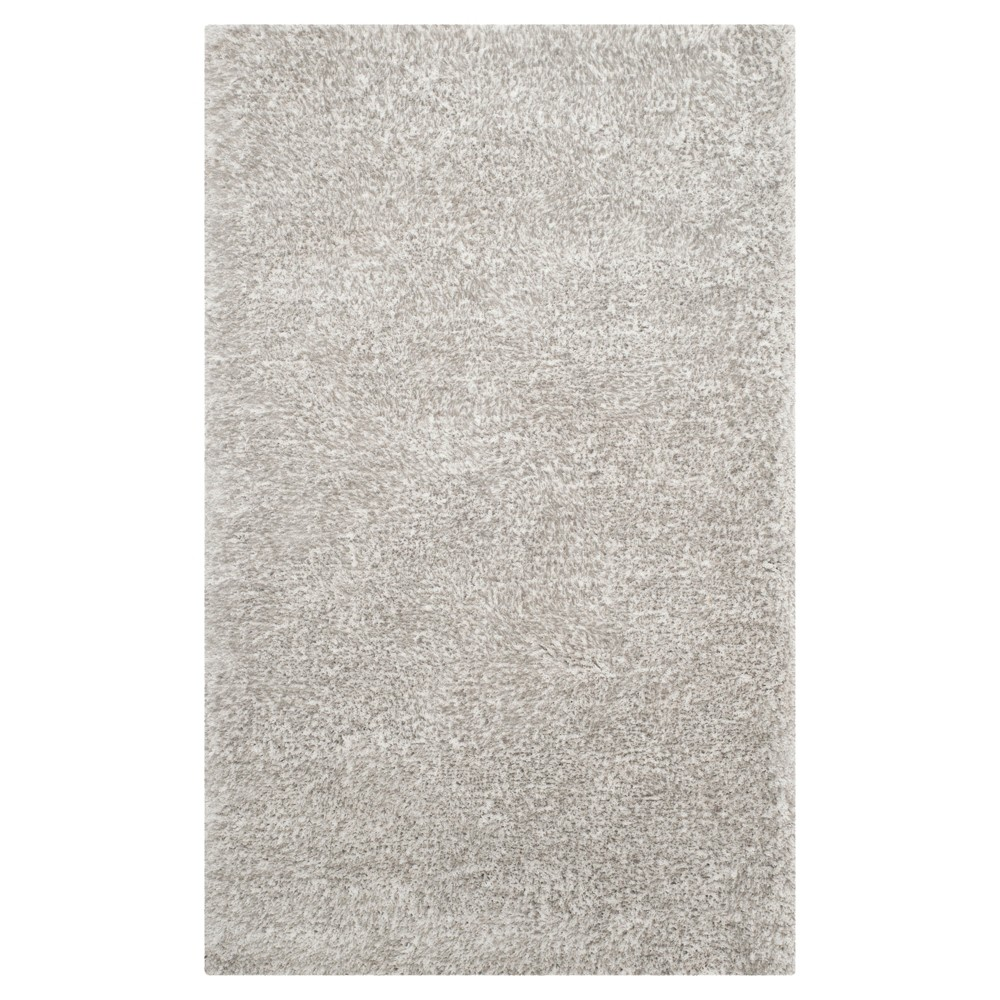 Ice (White) Solid Tufted Area Rug - (4'X6') - Safavieh