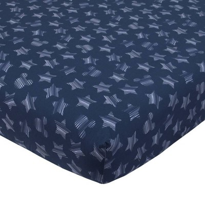 Disney Mickey Mouse Hello World StarIcon 100% Cotton Fitted Crib Sheet