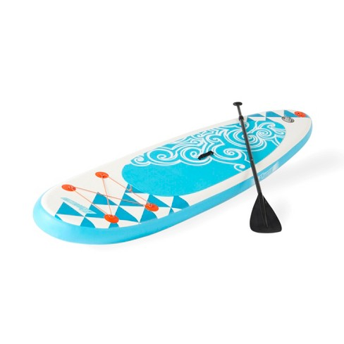 Banzai 10' Inflatable SUP Stand Up Paddle Board Adjustable Paddle & Backpack - image 1 of 6