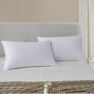 LOT Bed Pillows Soft Down for Home Hotel Side Sleeper Standard Queen King Size