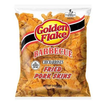 Golden Flake BBQ Pork Skins - 3oz