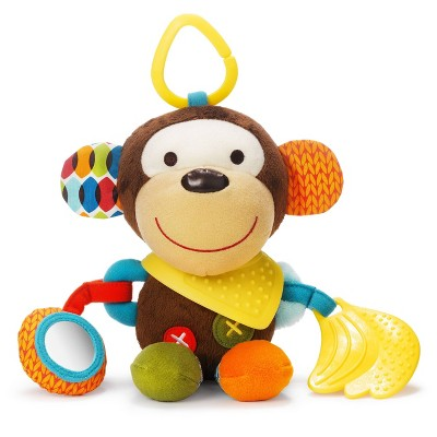Skip Hop Bandana Buddies Stroller Toy - Monkey