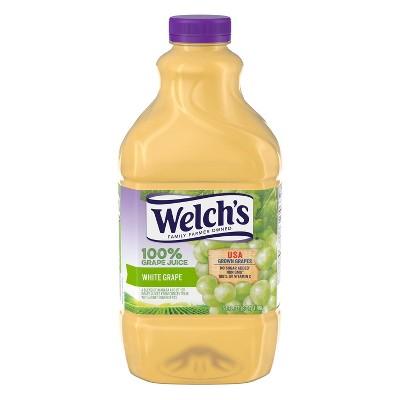 Welch's 100% White Grape Juice - 64 fl oz Bottle