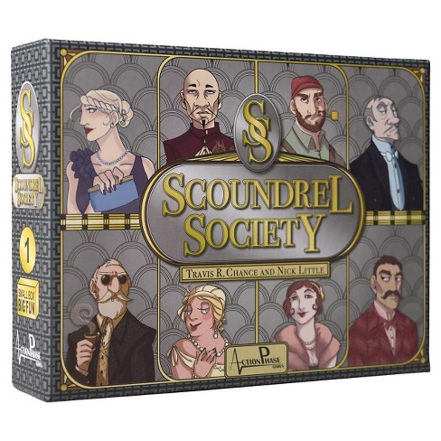 Scoundrel Society Board Game - image 1 of 9