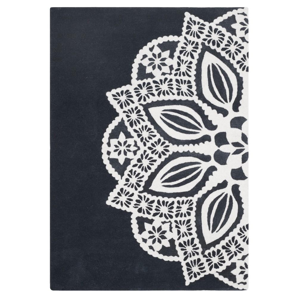 Allure Rug - Gray/Ivory - (5'X8') - Safavieh