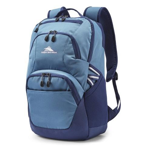 """High Sierra Swoop SG 19"""" Backpack - Graphite Blue/True Navy - image 1 of 4"""