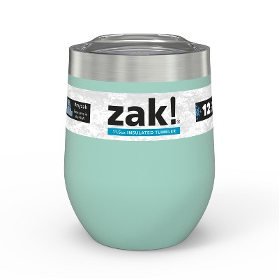 Zak Designs Designs11.5oz DW SS Wine Tumbler - Mint Green