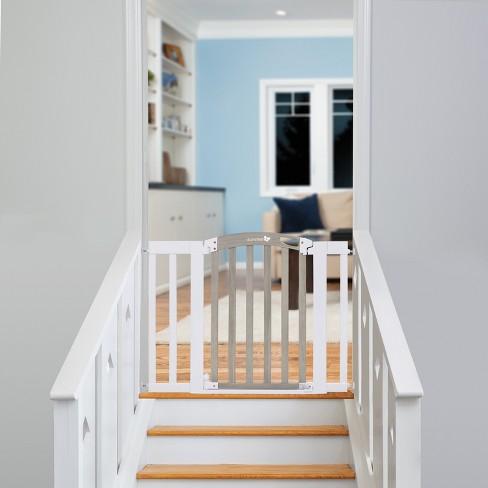 ddbdf4e076809 Summer Infant Chatham Post Safety Gate - White   Target
