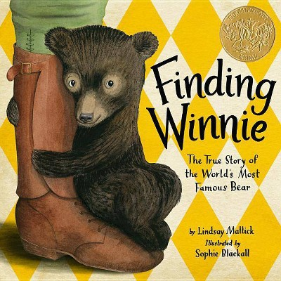 Finding Winnie - by Lindsay Mattick (Hardcover)