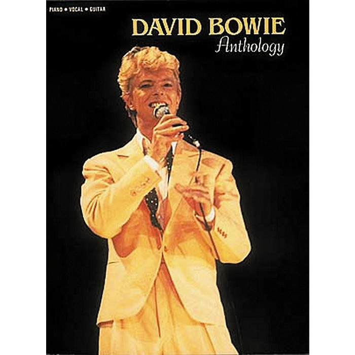 Hal Leonard David Bowie Anthology Piano, Vocal, Guitar Songbook - image 1 of 1