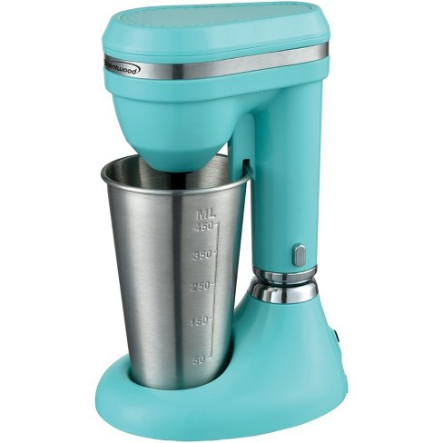 Brentwood 15oz Classic Milkshake Maker in Turquoise - image 1 of 4