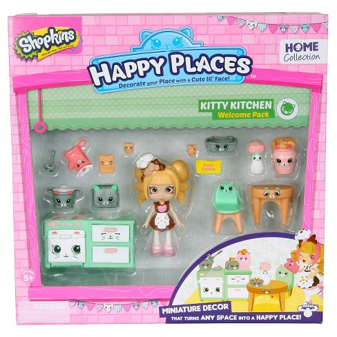 Happy Places Shopkins™ Welcome Pack - Kitty Kitchen - image 1 of 5