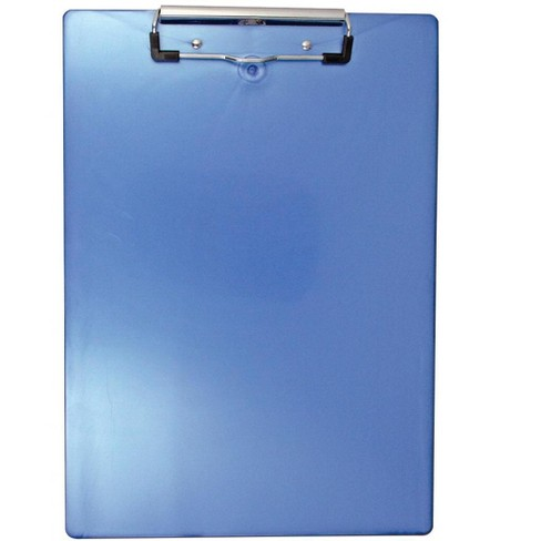 Saunders Clipboard, Recycled Plastic, Ice Blue - image 1 of 1