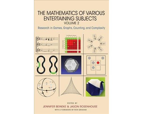 Mathematics of Various Entertaining Subjects : Research in Games, Graphs, Counting, and Complexity - image 1 of 1