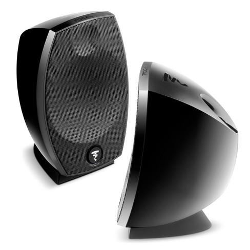 Focal Sib Evo 2.0 2-Way Bass-Reflex Satellite Loudspeakers - Pair (Black) - image 1 of 4