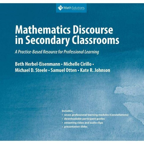 Mathematics Discourse in Secondary Classrooms - (Mixed media product) - image 1 of 1