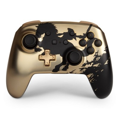 PowerA Enhanced Wireless Controller for Nintendo Switch Legend of Zelda - Gold Rider