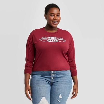 Women's Friends Central Perk Graphic Sweatshirt - Red