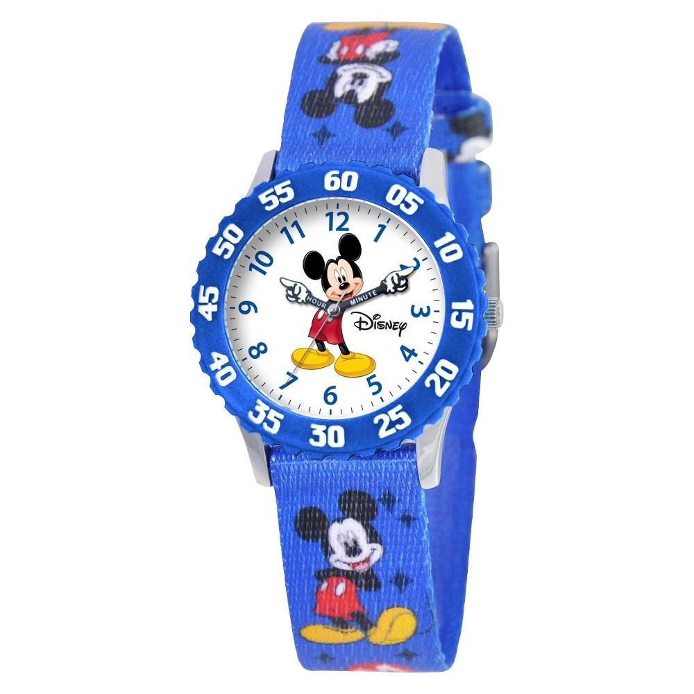 Boys' Disney Mickey Mouse Watch - Blue, Size: 32.0