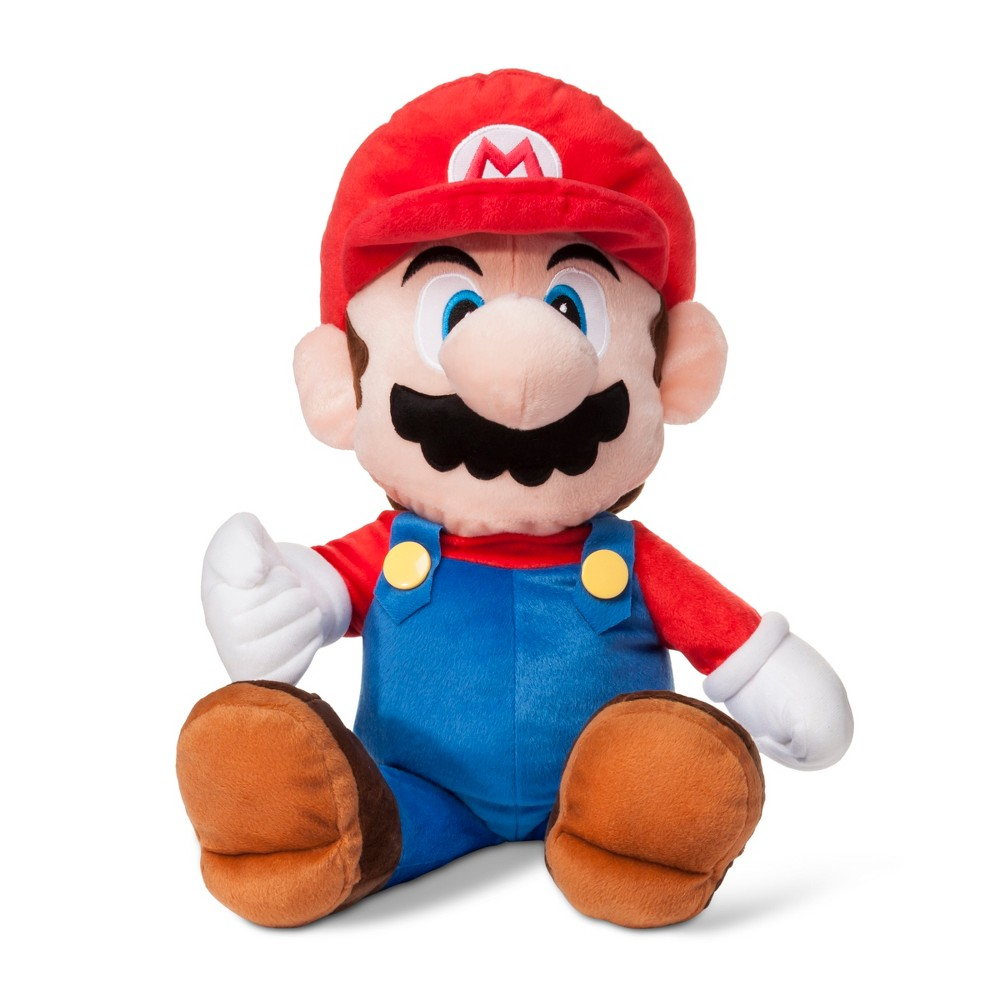Image of Nintendo Mario Throw Pillow