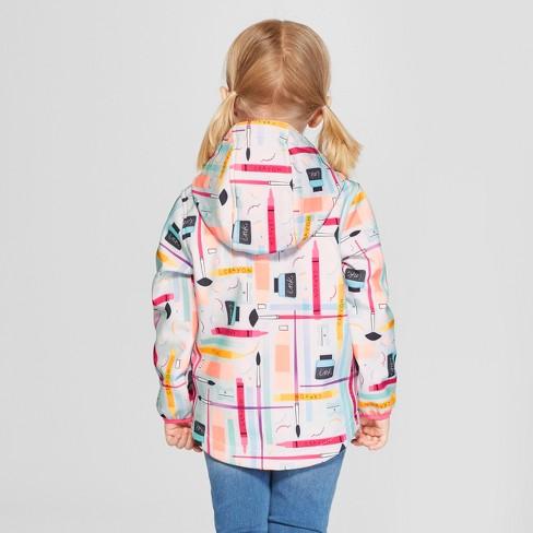 bd5299b7b334 Toddler Girls  School Supplies Softshell Jacket - Cat   Jack™ Aqua ...