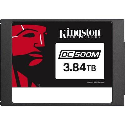 "Kingston DC500 DC500M 3.84 TB Solid State Drive - 2.5"" Internal - SATA (SATA/600) - Mixed Use - 555 MB/s Maximum Read Transfer Rate"