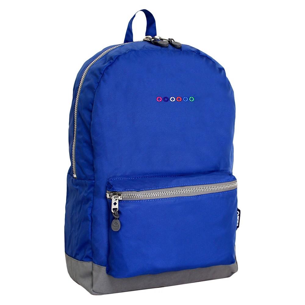 """Image of """"J World 17.5"""""""" Lux Laptop Backpack - Indigo, Blue"""""""