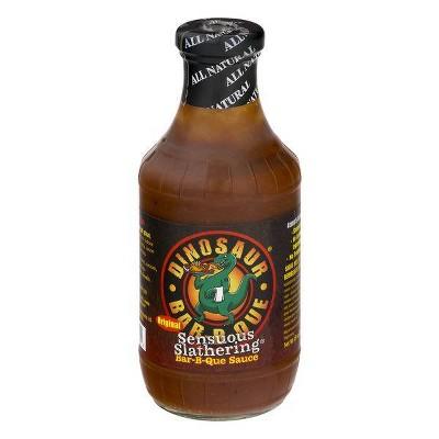 Dinosaur Original Sensuous Slathering Barbeque Sauce - 19oz