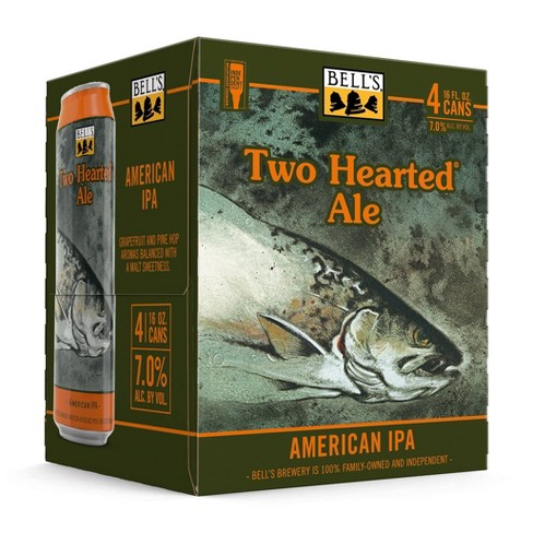 Bell's Two Hearted Ale IPA Beer - 4pk/16 fl oz Bottles - image 1 of 2