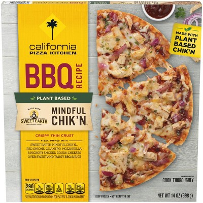 California Pizza Kitchen Mindful Chik'n BBQ Recipe Frozen Pizza - 14.7oz