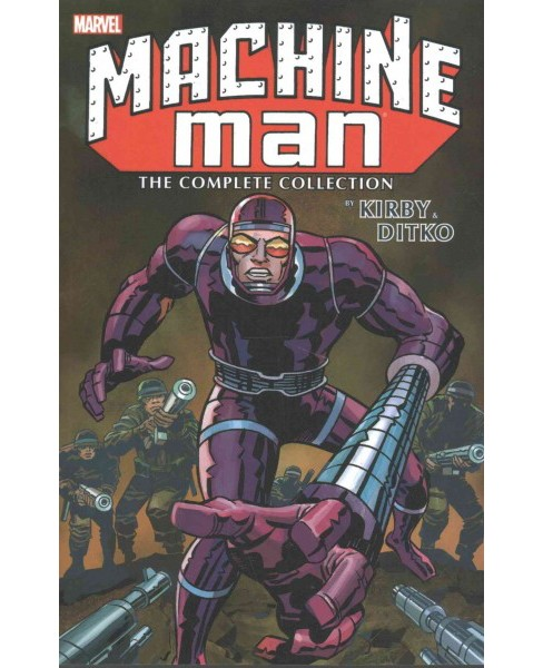 Machine Man by Kirby & Ditko ( Machine Man) (Paperback) - image 1 of 1