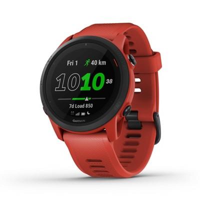 Garmin Forerunner 745 GPS Running and Triathlon Smartwatch - Magma Red