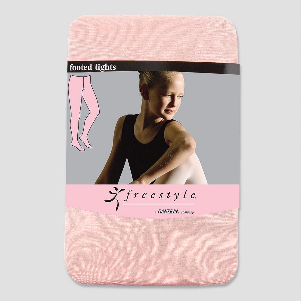Freestyle by Danskin Girls' Tights Pink Azalea 42195, Size: 7-10