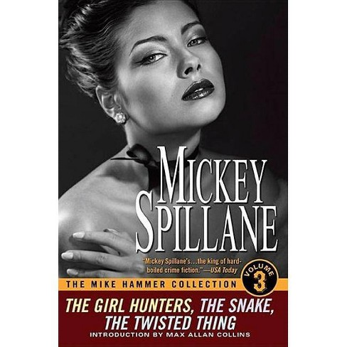 The Mike Hammer Collection, Volume III - (Obsidian Mystery) by  Mickey Spillane (Paperback) - image 1 of 1