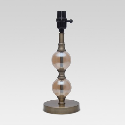 Stacked Ball Small Lamp Base Rose Includes Energy Efficient Light Bulb - Threshold™