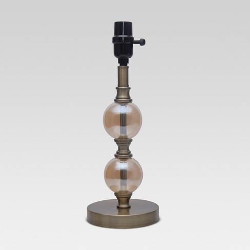 Stacked Ball Small Lamp Base Rose - Threshold™ - image 1 of 1