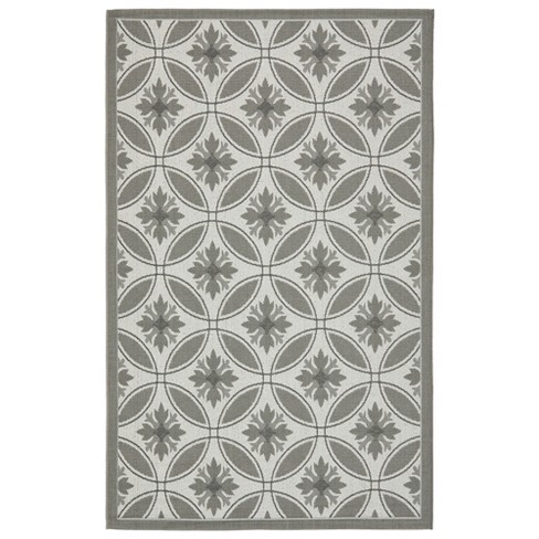 "Angier Rug 6'7""X9'6"" - Light Grey/Anthracite - Safavieh® - image 1 of 1"