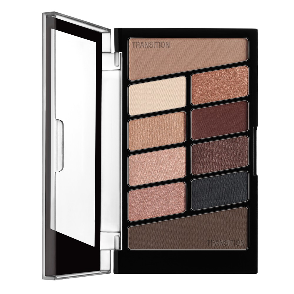 Image of Wet n Wild Color Icon 10-Pan Eyeshadow Palette Nude Awakening - 0.3oz