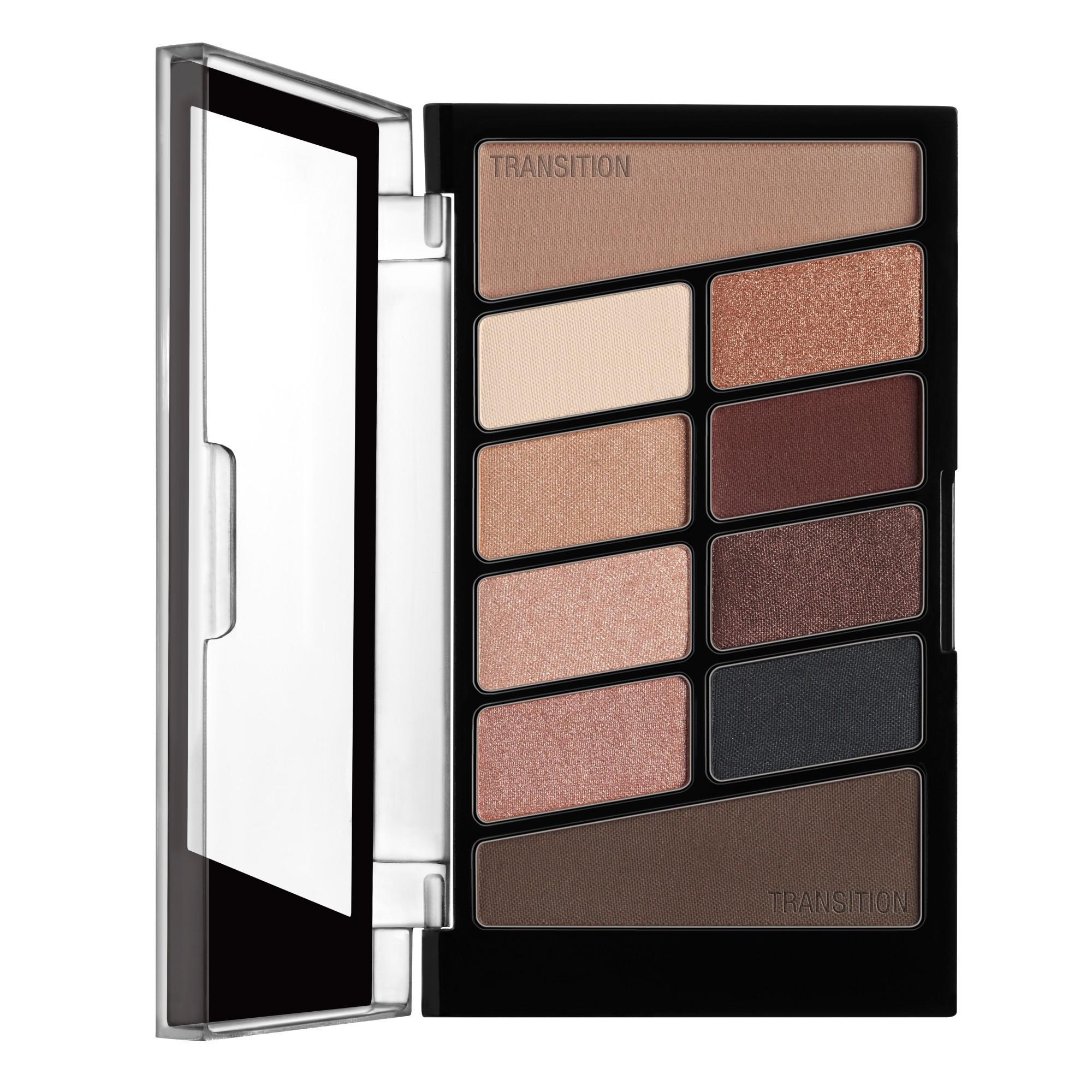 Wet n Wild Color Icon 10-Pan Eyeshadow Palette Nude Awakening - 0.3oz