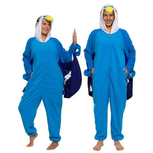 Funziez! Bird Slim Fit Adult Unisex Novelty Union Suit - image 1 of 4