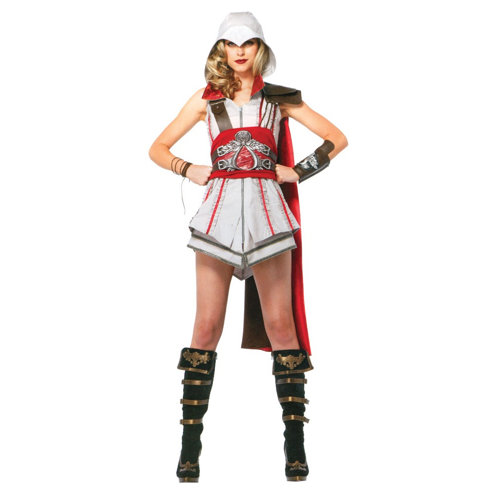 Image of Halloween Women's Assassin's Creed Ezio Costume, Size: Large, MultiColored
