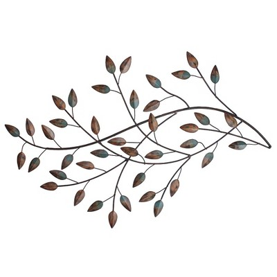 Blowing Leaves Wall Decor - Stratton Home Decor