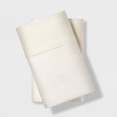 Standard 500 Thread Count Tri Ease Pillowcase Set Snowfall White - Project 62™ + Nate Berkus™