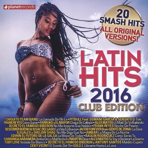 Various - Latin Hits:2016 Club Edition (CD) - image 1 of 1