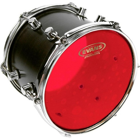 evans red hydraulic drum head 16 in target. Black Bedroom Furniture Sets. Home Design Ideas